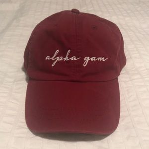 "Accessories - ALPHA GAMMA DELTA (AGD) ""Alpha Gam"" Dad Hat"